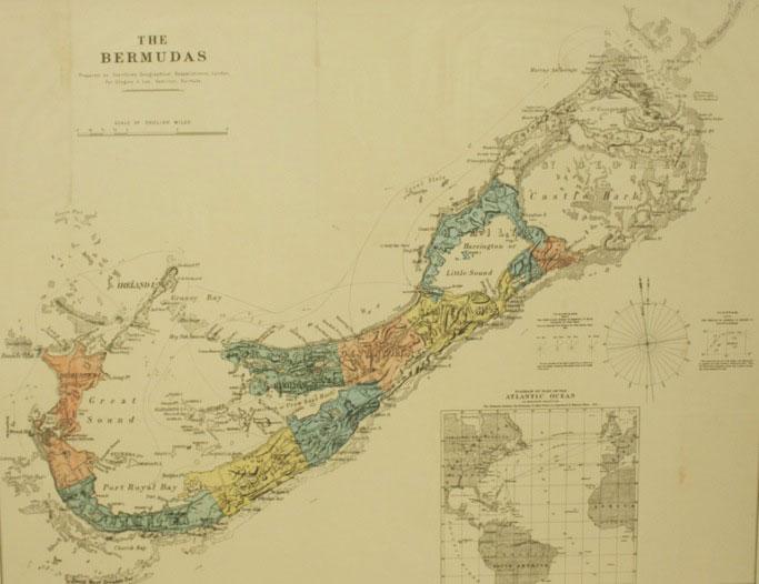 Anthony Pettit – Bermuda Fine Art, Antique Maps, Books, Prints and ...